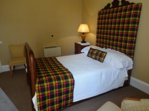Single room bed and breakfast from £60 per night